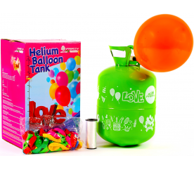 Aga4Kids Helium do balónků PARTY 10 MIX Green/Blue