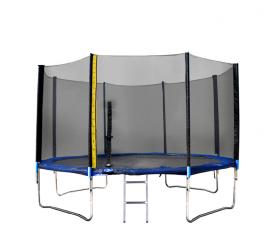 Linder Exclusiv Trampolína XXL 366 cm + ochranná síť + žebřík + krycí plachta