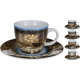 Hrnek s podšálkem 220 ml coffee - EXCELLENT