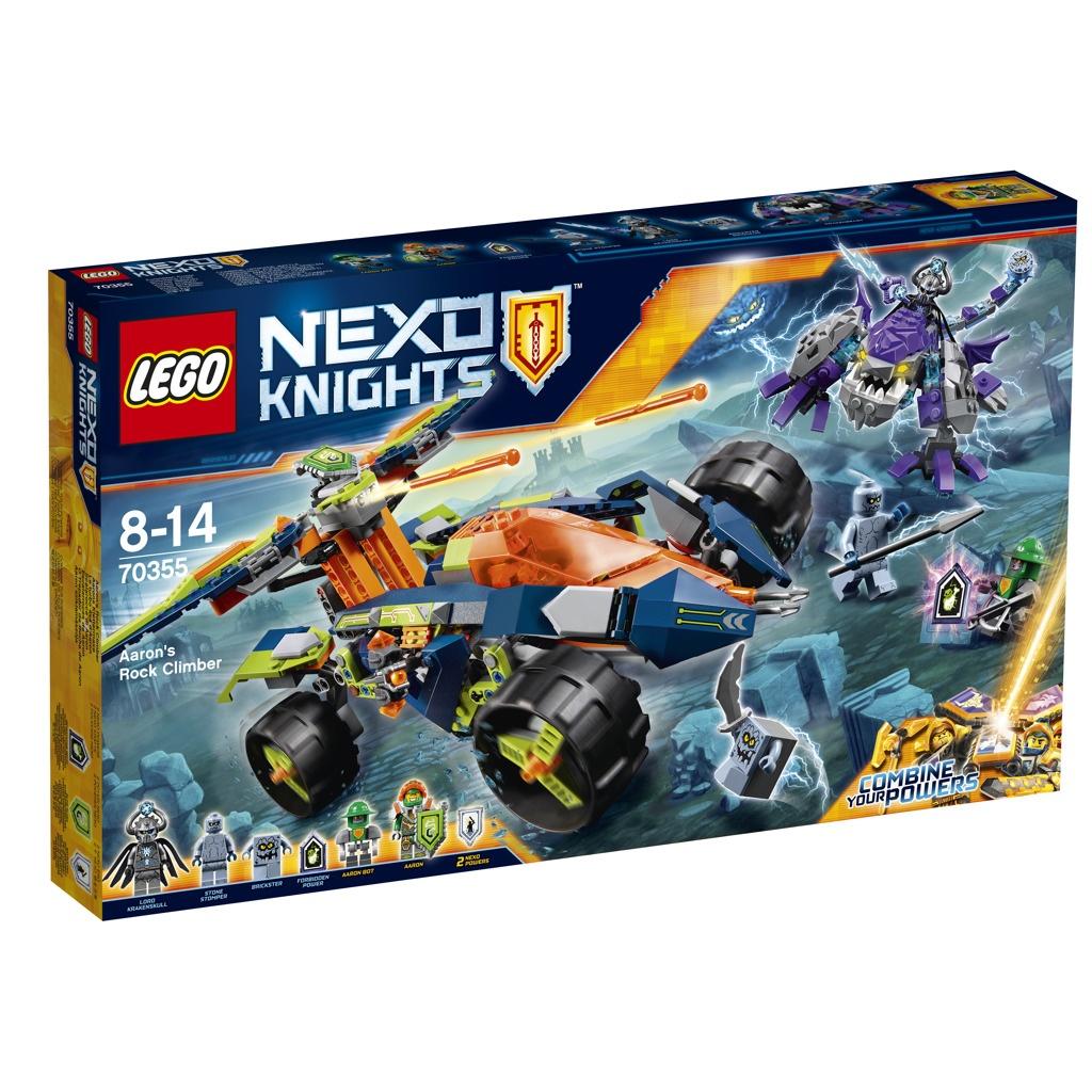 Lego Nexo Knights Aaronův vůz Horolezec