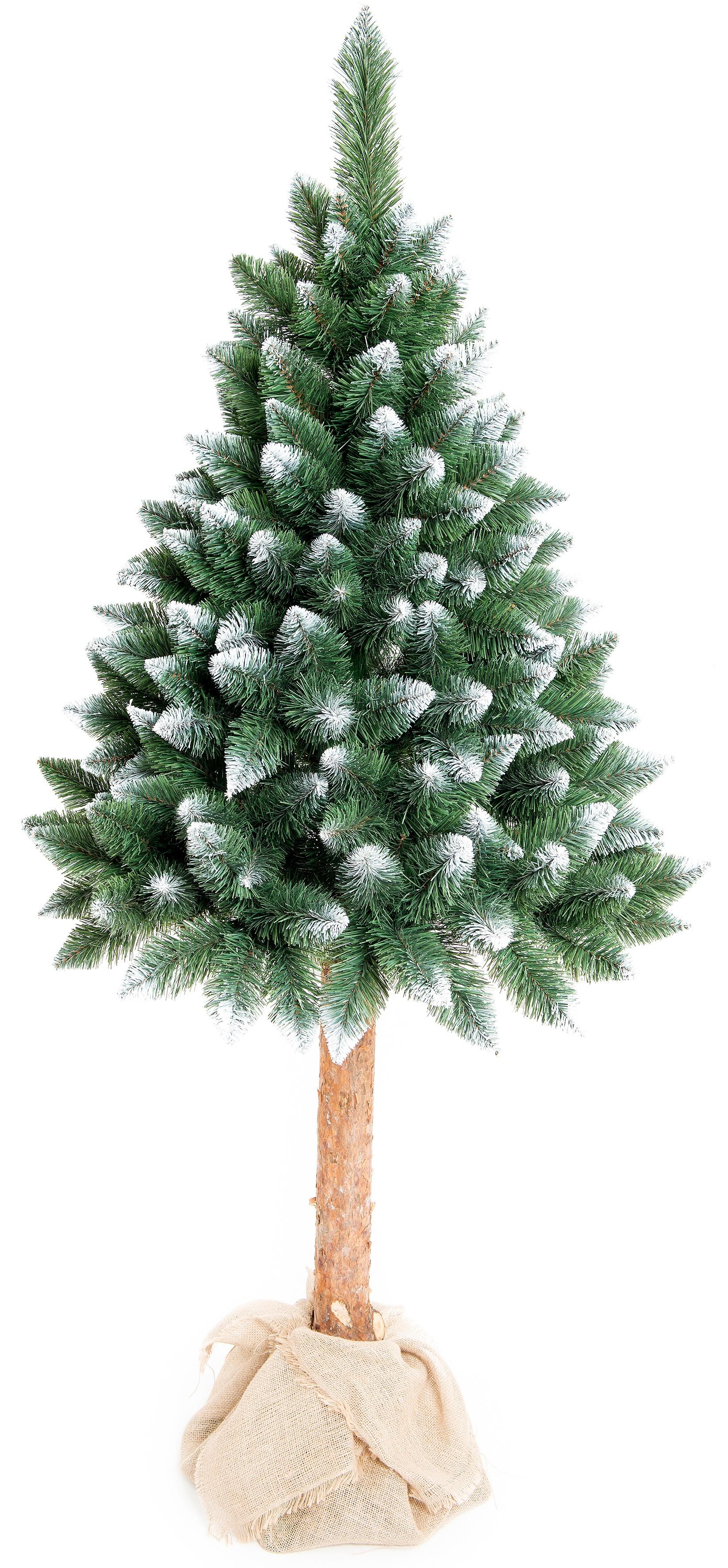 Aga Vánoční stromeček 220 cm s kmenem