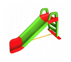 Aga4Kids csúszda kapaszkodóval 140 cm zöld - piros
