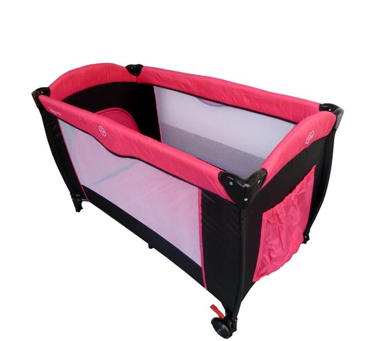 Baby Coo Cestovní postýlka MALIBU COMFORT Pink