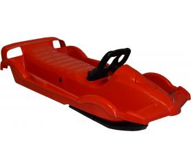 Aga Sanki BOLID F1 nartosanki z kierownicą i hamulcem czerwony