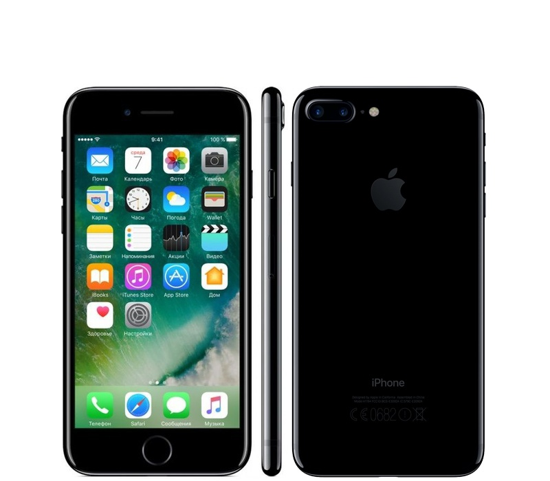 Apple iPhone 7 Plus 128GB Jet Black Kategorie: B