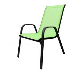 Aga Krzesło ogrodowe ALU STAPEL MR4400L Lime