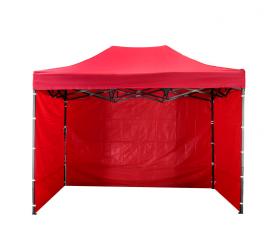 Aga Prodejní stánek 3S PARTY 3x4,5 m Red