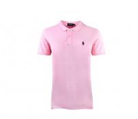 Ralph Lauren Dámské Polo tričko Skinny-Fit Carmel Pink