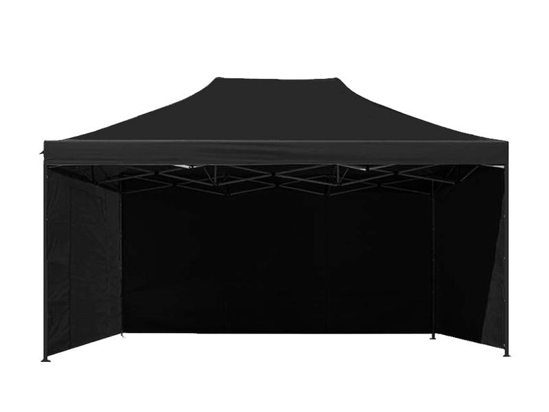 Aga Predajný stánok 3S PARTY 3x4,5 m Black