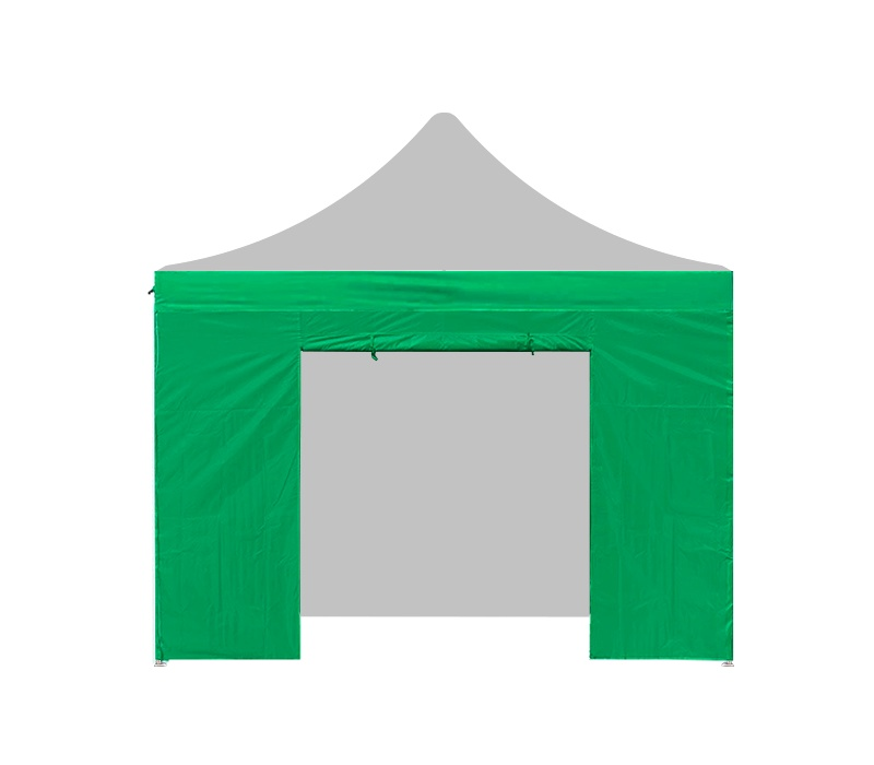 Aga Bočnice s dveřmi 2x2 m Green