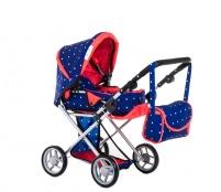 Doris Kočík pre bábiky 9346/B Blue Red