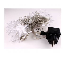 Linder Exclusiv Vánoční světelný řetěz 48 LED Hvězdy Teplá bílá