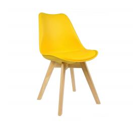 Aga Jedálenská stolička MR2035 Žltá