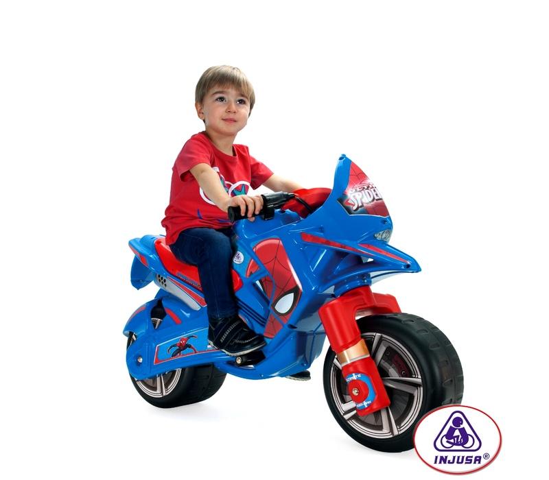 Injusa Elektrická motorka CLAWS ULTIMATE SPIDER-MAN 6V