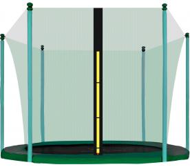 Aga Siatka do trampoliny 250 cm 8ft wewnętrzna na 6 słupków Dark Green