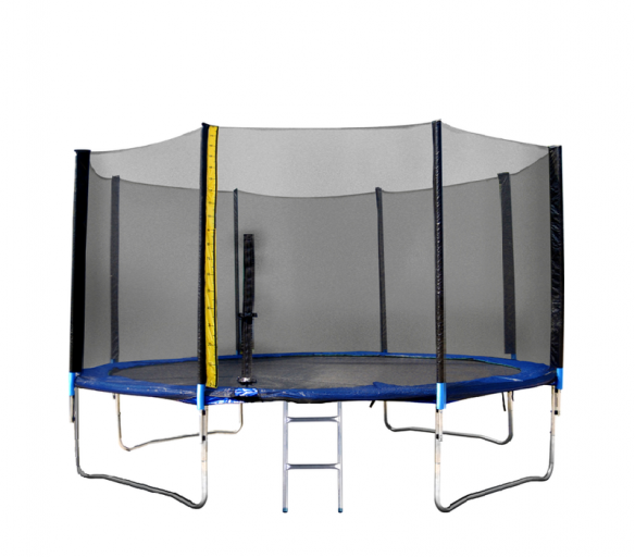 Linder Exclusiv Trampolína XXL 400 cm + ochranná síť + žebřík + krycí plachta