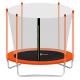 Aga SPORT FIT Trampolína 180 cm Orange + vnútorná ochranná sieť