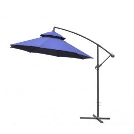 Aga Zahradní slunečník konzolový EXCLUSIV CUBE 250 cm Dark Blue