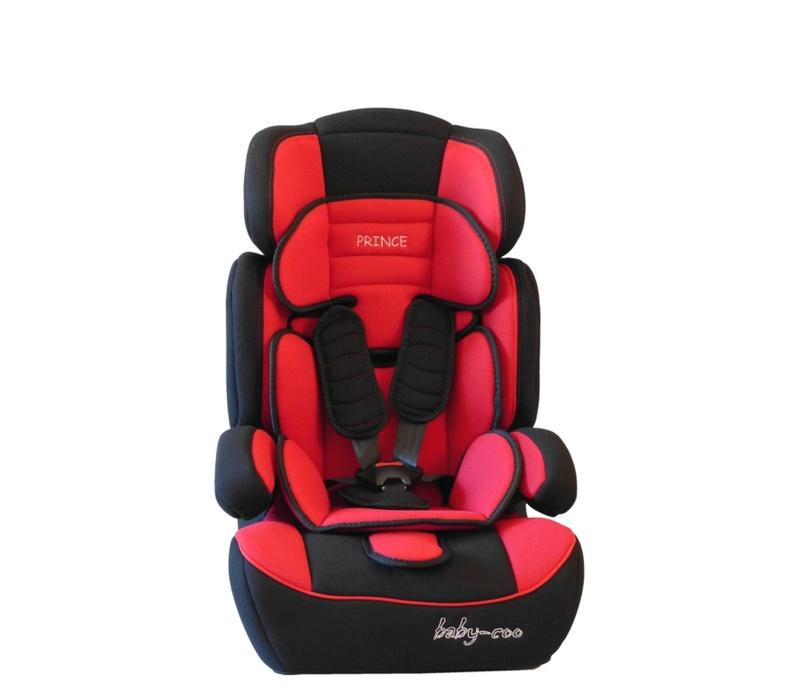 Baby Coo autosedačka PRINCE 2018 Black Red