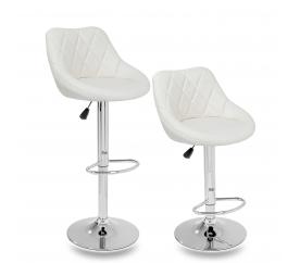 Tresko 2x Barová židle Beige