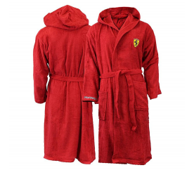 FERRARI EXCLUSIV Unisex župan Red Black
