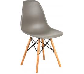 Aga Krzesło skandynawskie nowoczesne Grey