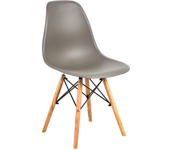 Aga Jedálenská stolička Sivá