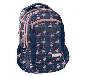 Paso Školní batoh Flamingo
