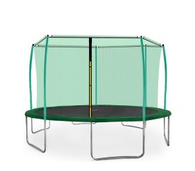 Aga SPORT FIT Trampolína 430 cm Dark Green + vnitřní ochranná síť