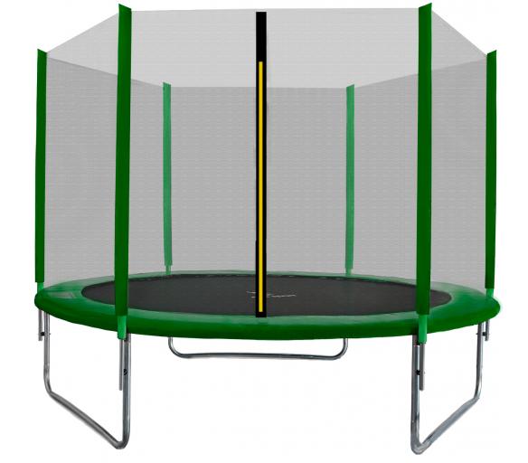 Aga SPORT TOP Trampolína 305 cm Dark Green + ochranná síť