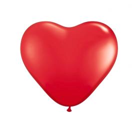 Aga4Kids Latexový balónek SRDCE s LED diodou Red 25 cm