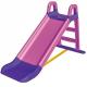 Aga4Kids Zjeżdżalnia z uchwytem 140 cm Różowo-fioletowa