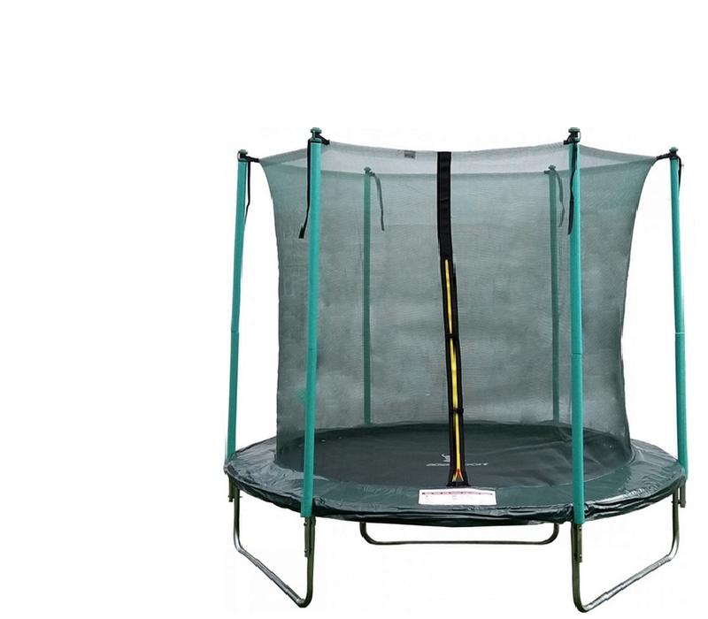 aga sport fit trampol na 250 cm 8 ft s vnit n ochrannou s t sv t pro d ti. Black Bedroom Furniture Sets. Home Design Ideas