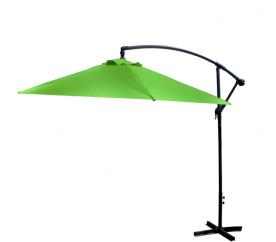 Aga Záhradný slnečník konzolový EXCLUSIV BONY 300 cm Apple Green
