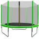 Aga SPORT TOP Trampolína 305 cm Light Green + ochranná síť + žebřík