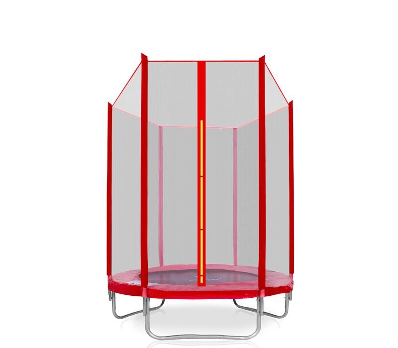 Aga SPORT INDOOR Trampolína 140 cm Red