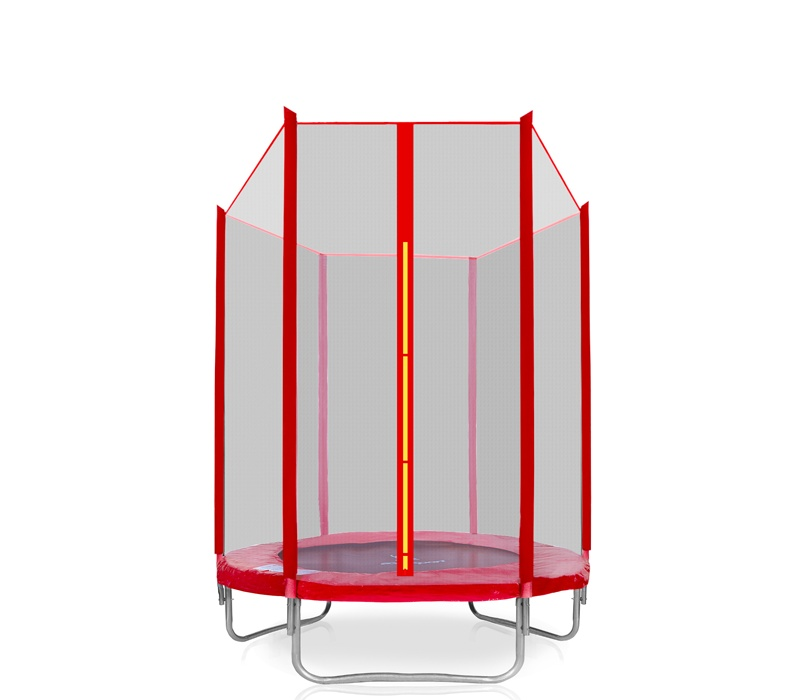 Aga SPORT PRO Trampolína 140 cm Red