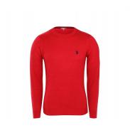 U.S. Polo ASSN. Férfi pulóver ROUND-NECK Red