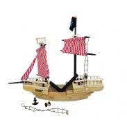 Wooden Toys fa kalózhajó