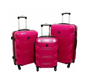 RGL Cestovní kufry HC720 XXL,XL,L Pink