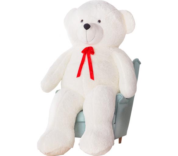 Aga4Kids Plyšový medvěd 220 cm Bueno White