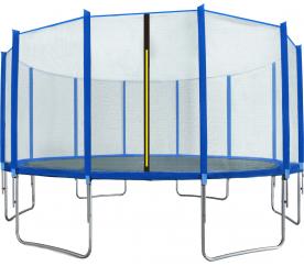Aga SPORT TOP Trambulin 500 cm Blue + védőháló