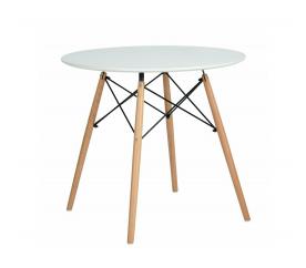 Aga Jídelní stůl 80 cm White