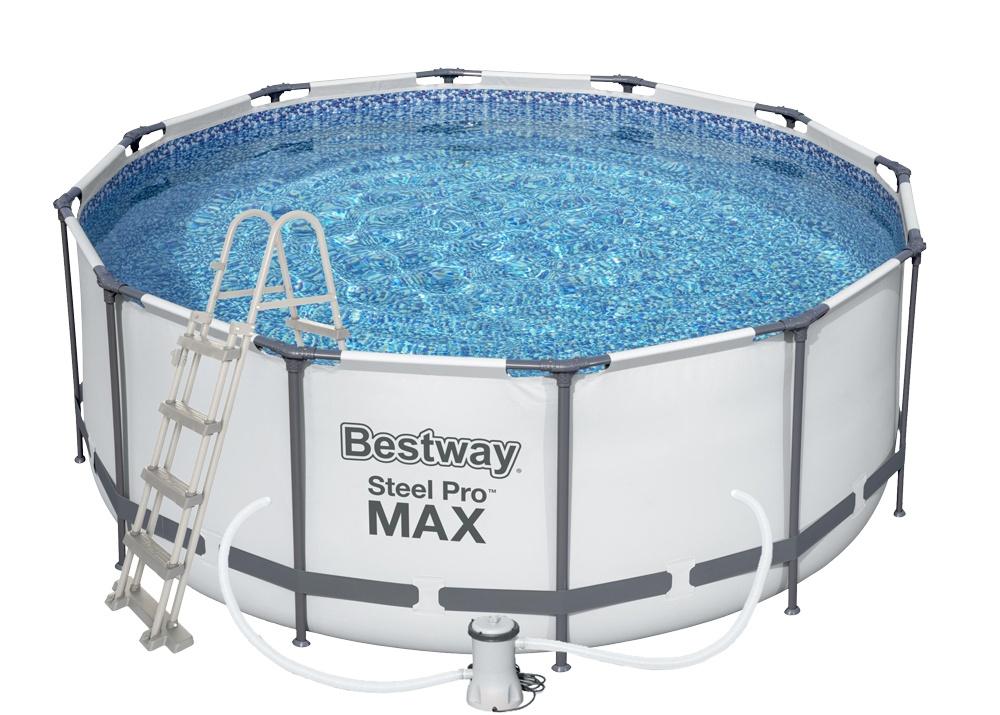 Bestway Steel Pro Frame 3,66 x 1,22 m 56420 + Kartušová filtrace