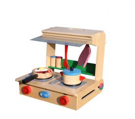 Aga4Kids Kuchnia drewniana dla dzieci POLLY