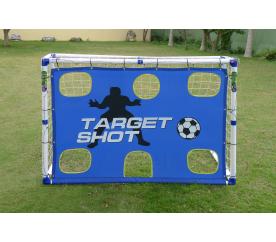 Aga Bramka piłkarska TARGET SHOT GOAL JC-183T 183x130x96 cm
