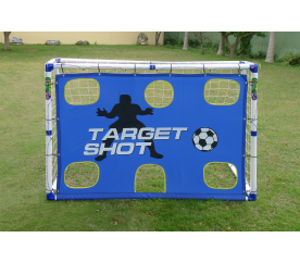 Aga Fotbalová branka TARGET SHOT GOAL JC-183T 183x130x96 cm