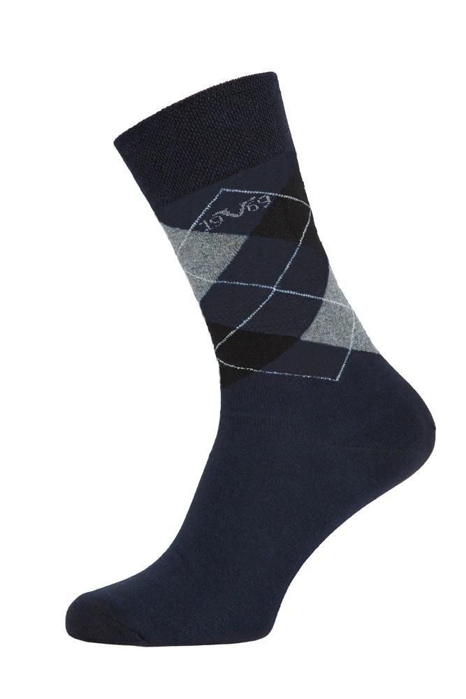 Versace 19.69 Ponožky BUSINESS 5-Pack Dark Blue-Grey (C177)