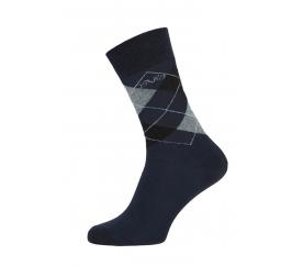 Versace 19.69 Ponožky BUSINESS 5-Pack Navy-Grey (C177)