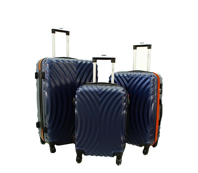 RGL Cestovní kufry HC760 XXL,XL,L Barva: Navy-Orange
